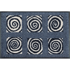 Kleen-Tex wash + dry doormat | Pan | ... washable mat with rubber edge!
