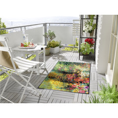 Kleen-Tex wash + dry doormat | Primavera | ... washable mat with rubber edge!