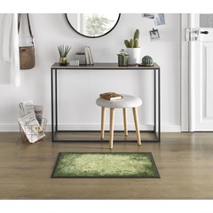 Kleen-Tex wash + dry doormat | Shades of Green | ... washable mat with rubber edge!
