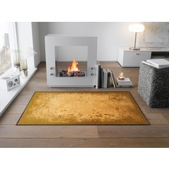 Kleen-Tex wash + dry doormat | Shades of Gold | ... washable mat with rubber edge!