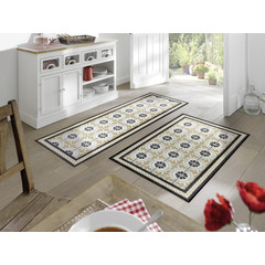 Kleen-Tex wash + dry doormat | Kitchen Tiles | ... washable mat with rubber edge!