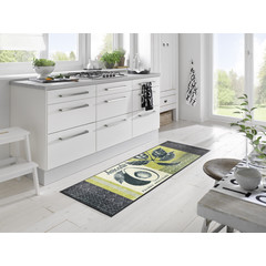 Kleen-Tex wash + dry doormat   Avocado   ... washable mat with rubber edge!
