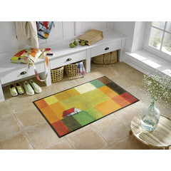 Kleen-Tex wash + dry doormat | Meadow Lands | ... washable mat with rubber edge!