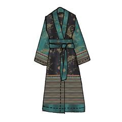 Bassetti Bassetti Kimono | GRADARA  B1 | Größe S/M | Limited Edition