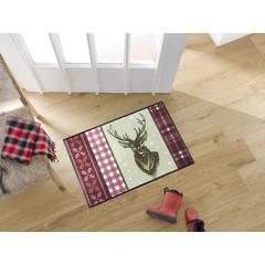 Kleen-Tex wash + dry doormat | Björn | ... washable mat with rubber edge!