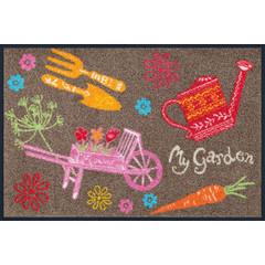 Kleen-Tex wash+dry  Fußmatte | My Garden |...waschbare Matte mit Gummirand!