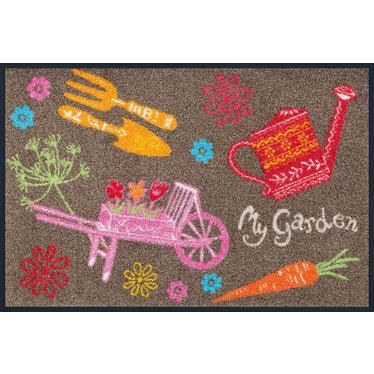 Kleen-Tex wash+dry  Fußmatte |  My Garden | ...waschbare Matte mit Gummirand!