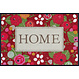 Kleen-Tex wash + dry doormat | Rose Cottage | ... washable mat with rubber edge!