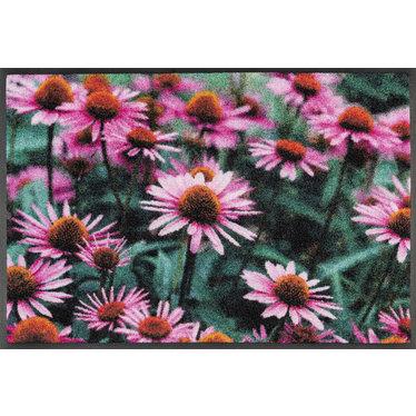 Kleen-Tex wash + dry doormat | Purpurea | ... washable mat with rubber edge!