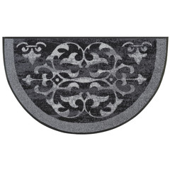 Kleen-Tex wash + dry doormat | Round Ornaments | ... washable mat with rubber edge!