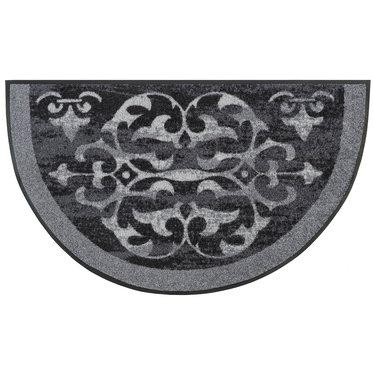 Kleen-Tex wash+dry  Fußmatte | Round Ornaments  | ...waschbare Matte mit Gummirand!