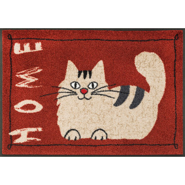 Kleen-Tex wash + dry doormat | Catty Home | ... washable mat with rubber edge!