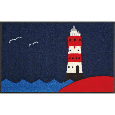 Kleen-Tex wash + dry doormat | Lighthouse | ... washable mat with rubber edge!