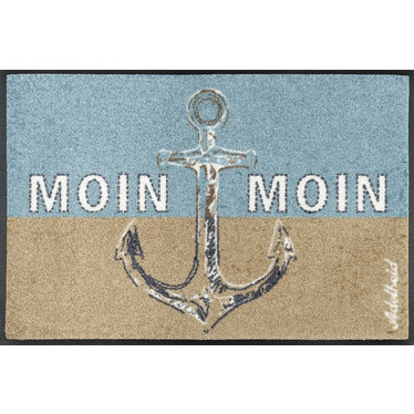 Kleen-Tex wash + dry doormat | Moin Moin | ... washable mat with rubber edge!