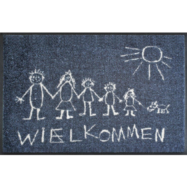 Kleen-Tex wash + dry doormat | Chalky Home | ... washable mat with rubber edge! - Copy