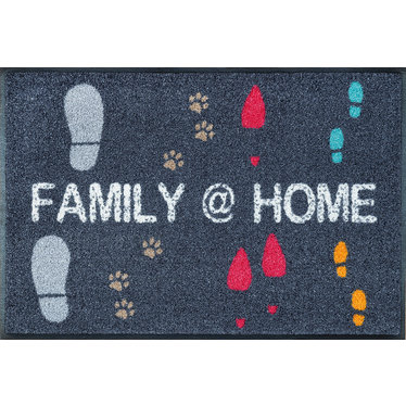 Kleen-Tex wash + dry doormat   Family @ Home   ... washable mat with rubber edge!