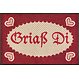 Kleen-Tex wash + dry doormat | Griaß Di | ... washable mat with rubber edge!