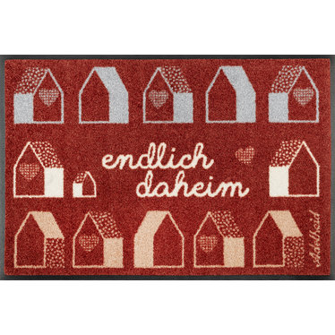 Kleen-Tex wash + dry doormat | At home at last | ... washable mat with rubber edge!
