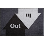 Kleen-Tex wash + dry doormat | In & Out | ... washable mat with rubber edge!