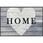 Kleen-Tex wash + dry doormat | Heart at Home | ... washable mat with rubber edge!