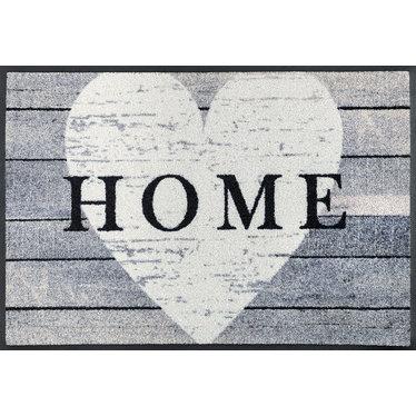 Kleen-Tex wash + dry Fußmatte   Heart at Home   ... waschbare Matte mit Gummikante!