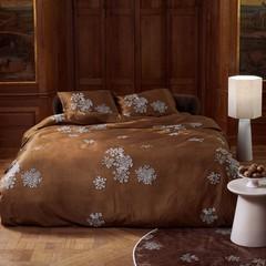 ESSENZA - Inspirationen aus aller Welt! Bed linen LAUREN cinnamon | 100% cotton satin