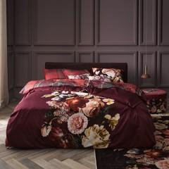 ESSENZA - Inspirationen aus aller Welt! Bed linen ANNECLAIRE cherry | 100% cotton satin