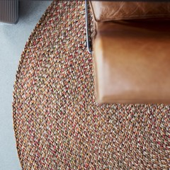 Sisal Romeo Wicker Carpet   ROUND   100% sisal