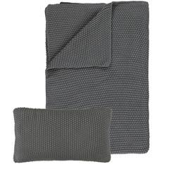 MARC O'POLO  NORDIC KNIT stone | 130/170 cm | Cotton knit