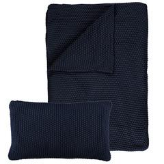 MARC O'POLO  NORDIC KNIT indigo blue | Cotton knit