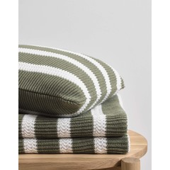 MARC O'POLO  STRUCTURE KNIT garden green | Cotton knit