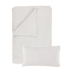 MARC O'POLO  NORDIC KNIT off white | Cotton knit