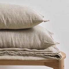 MARC O'POLO  LINKA QUILT sand | Pure linen cloth