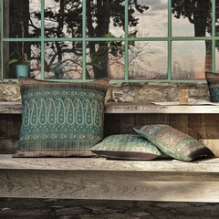 Bassetti Tavola cushion cover | PIAZZA DUCALE V1