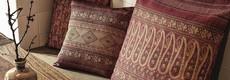 Bassetti Kissenbezüge aus der Tavola Kollektion in schöner Panamabindung