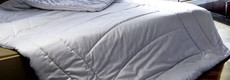 Upper beds and duvets