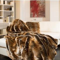 Star Home Textil GmbH GOLDEN ZOBEL | Webfelldecken | 150/200 cm