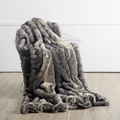 Star Home Textil GmbH GREY WOLF | Webfelldecken | 150/200 cm