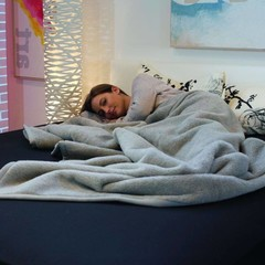 Ritter Ritter blanket | Perulama, silvergrey | 80% baby alpaca, 20% virgin wool | ..different sizes