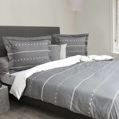 HnL HnL | Bed linen Giel | 2 sizes | gray-white