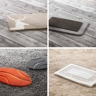 Bath rugs polyacrylic