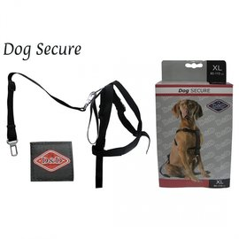 Duvo+ Auto Veiligheidsharnas met gordel voor hond maat XL 80-110cm