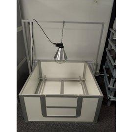 Hundos Pro Beugel voor warmtelamp passend bij werpkist120x120x60 cm.
