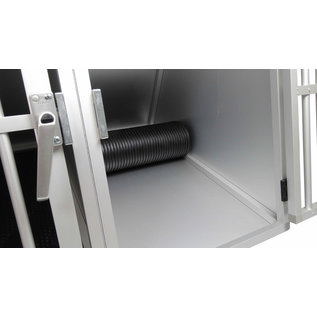 Hundos Maatwerk Aluminium Autobench Schuin Model 2-Vaks