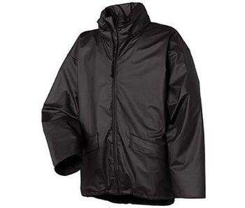 Regenjack Pu-stretch zwart