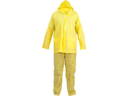 Regenpak Polyester geel