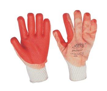 Prevent Handschoen Rood
