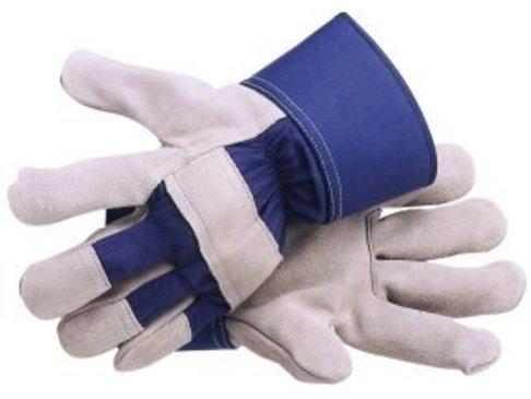 Spiltleder handschoenen