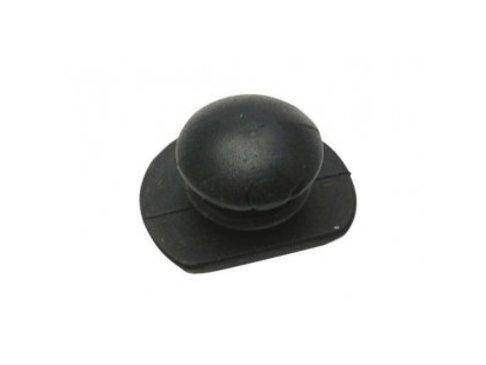 Rubber knop voor kniebeschermer
