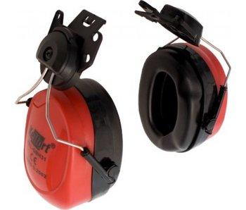 Kelfort Gehoorbeschermer voor helmbevestiging rood